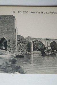 TOLEDO Baño de la Cava y Puente de San Martín