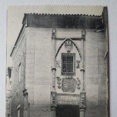 Postales: TOLEDO POSADA DE LA HERMANDAD. Lote 140877202