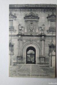 TOLEDO Puerta principal del Alcázar