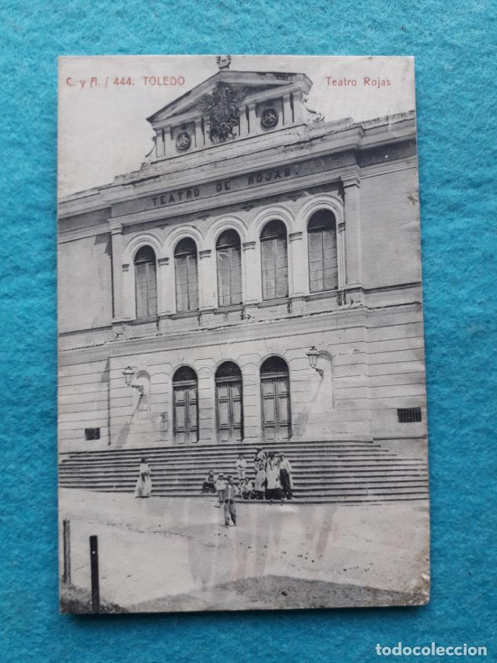TOLEDO. TEATRO ROJAS. (Postales - España - Castilla La Mancha Antigua (hasta 1939))