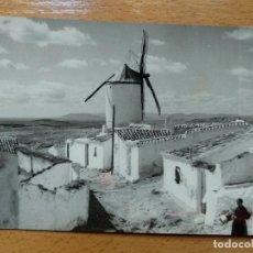 Postales: CAMPO DE CRIPTANA. MOLINOS MANCHEGOS EN LA RUTA DEL QUIJOTE.. Lote 141676830