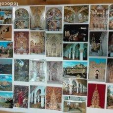 Postales: LOTE DE 54 POSTALES DE TOLEDO Y PROVINCIA,CIRCULADAS Y SIN CIRCULAR, ANTIGUAS Y MODERNAS. Lote 142057562