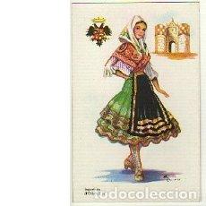 Postales: POSTAL LAGARTERA (TOLEDO) 17. ILUSTRADA POR ELSI GUMIER. F. MOLINA, MADRID (SIN ESCRIBIR). Lote 115734083