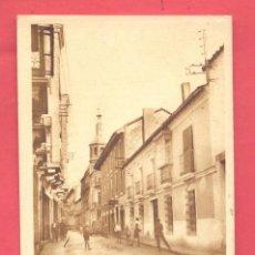 Postales: VALDEPEÑAS(C.R.) CALLE DE PI Y MARGALL CIRCULADA 1933 SIN SELLO, REVERSO F.MESAS, VER FOTOS. Lote 142357838