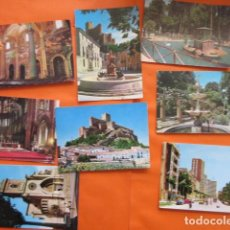 Postales: LOTE 7 POSTALES DE ALBACETE, 2 DE ALMANSA. Lote 142411258