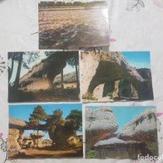 Postales: LOTE 5 POSTALES DE CUENCA, SIN CIRCULAR. AÑOS 60.. Lote 142975910