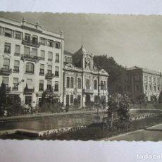 Postales: POSTAL ALBACETE - PLAZA DEL CAUDILLO. JARDINES - GARCIA GARRABELLA 4 - ESCRITA SIN CIRCULAR. Lote 143048538