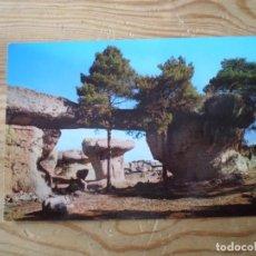 Postales: CUENCA CIUDAD ENCANTADA PUENTE MAYOR Y TEATRO EDICIONES SICILIA Nº27 (SIN CIRCULAR). Lote 143144854