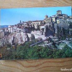 Postales: CUENCA CASAS COLGADAS Y VISTA PARCIAL GARCIA GARRABELLA Nº2 (SIN CIRCULAR). Lote 143145318