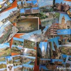 Postales: TOLEDO TALAVERA DE LA REINA 44 POSTALES - 7 CIRCULADAS CON SELLO AÑOS 60/70/80. Lote 143199794