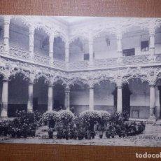 Postales: TARJETA POSTAL - GUADALAJARA - PATIO PALACIO DEL INFANTADO - COLECCIÓN FLORES Y ABEJAS - HAUSER 1914. Lote 143925234