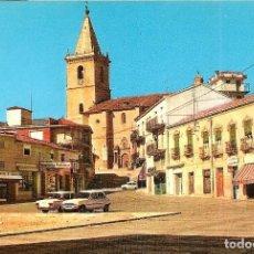 Postales: LA RODA (ALBACETE) - PLAZA MAYOR - EDITADO POR J. CROS - SIN CIRCULAR. Lote 144411398