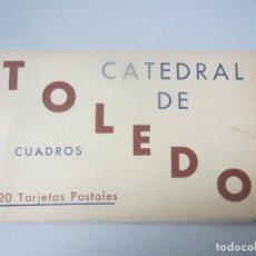 Postales: BLOCK POSTALES TOLEDO. Lote 144832322