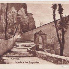 Postales: CUENCA - BAJADA A LAS ANGUSTIAS. Lote 145442454