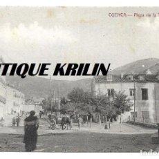 Postales: CUENCA .- PLAZA DE LA TRINIDAD .- EDICION M. VERGES . Lote 145725734