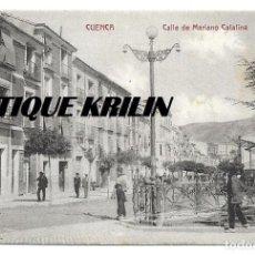 Postales: CUENCA .- CALLE MARIANO CATALINA .- EDICION M. VERGES . Lote 145725842