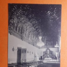 Cartes Postales: POSTAL - GUADALAJARA - SALÓN DE LINAGES PALACIO DEL INFANTADO - FLORES Y ABEJAS - HAUSER Y MENET. Lote 145829386