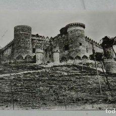 Postales: ANTIGUA FOTO POSTAL DE BELMONTE (CUENCA), CASTILLO - ED. HELIOTIPIA ARTISTICA, NO CIRCULADA, ESCRITA. Lote 146371222