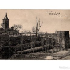 Postales: GUADALAJARA.- TORREÓN DE ALAMÍN. Lote 146431198