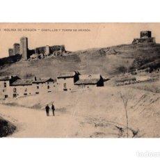 Postales: MOLINA DE ARAGÓN.(GUADALAJARA).- CASTILLOS Y TORRE DE ARAGÓN . Lote 146433394