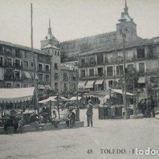 Postales: TOLEDO PLAZA DE ZOCODOVER. Lote 140876926
