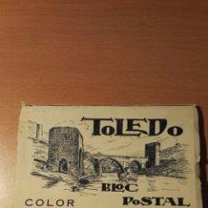 Postales: TOLEDO BLOC POSTAL COLOR. 20 POSTALES. Lote 147142952