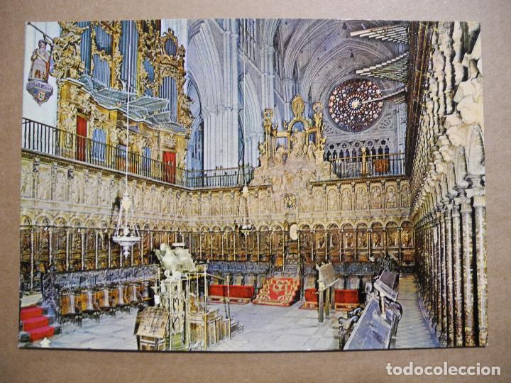 TOLEDO. CATEDRAL. EL CORO. N. 1453 ED. ARRIBAS. NUEVA (Postales - España - Castilla la Mancha Moderna (desde 1940))