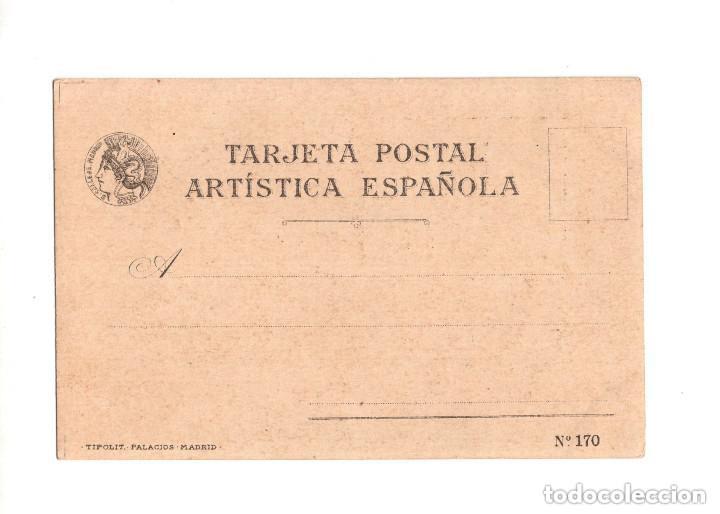 Postales: POSTAL SERIE CALLEJA TIPOS COMICOS Nº 20 GUADALAJARA - Foto 2 - 147707346