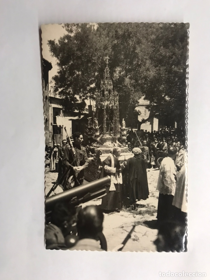 TOLEDO. POSTAL. ANIMADA NO.41, PROCESIÓN DEL CORPUS. EDITA: GARCIA GARRABELLA (H.1950?) (Postales - España - Castilla la Mancha Moderna (desde 1940))