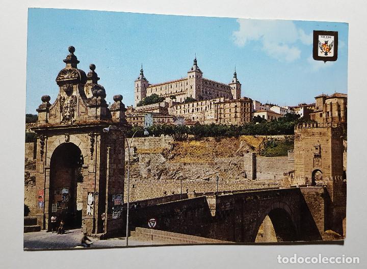 TOLEDO PUERTA DE ALCANTARA Y ALCAZAR (Postales - España - Castilla la Mancha Moderna (desde 1940))