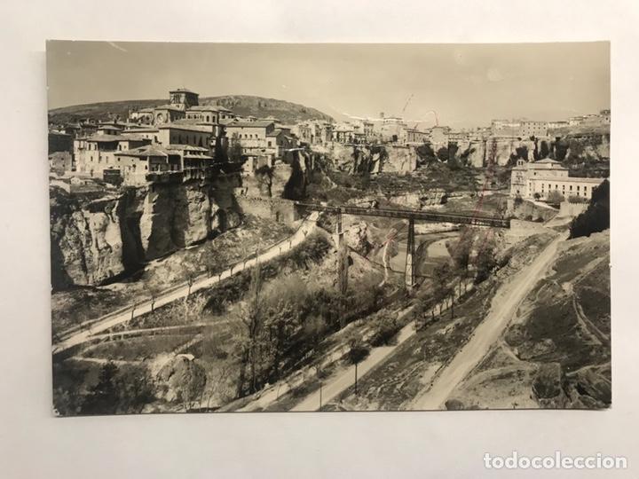 CUENCA. POSTAL NO.13, HOZ DEL HUECAR CONVENTO Y PUENTE DE SAN PABLO. EDITA: ED. SICILIA (H.1950?) (Postales - España - Castilla la Mancha Moderna (desde 1940))