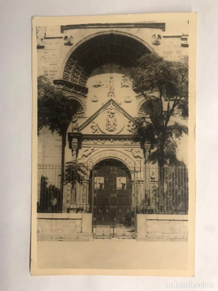 MANZANARES (CIUDAD REAL) POSTAL FACHADA NTRA. SRA. DE LA ASUNCIÓN. EDITA: FOTO DÍAZ PIRES (A.1958) (Postkarten - Spanien - Modernes Kastilien-La Mancha (ab 1940))