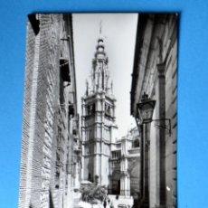 Postales: POSTAL DE TOLEDO: TORRE DE LA CATEDRAL. Lote 147917298