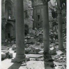 Postales: TOLEDO-PATIO DEL ALCAZAR- AÑO 1940--FOTOGRÁFICA MUY RARA ÚNICA.(ORIGINAL). Lote 147976626