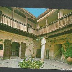 Postales: POSTAL SIN CIRCULAR - TOLEDO 10 - CASA DEL GRECO - EDITA JULIO DE LA CRUZ. Lote 148120778