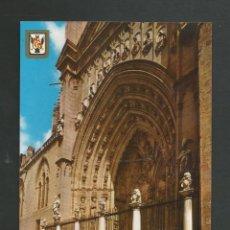 Postales: POSTAL SIN CIRCULAR - TOLEDO 27 - CATEDRAL - EDITA ESCUDO DE ORO. Lote 148146442
