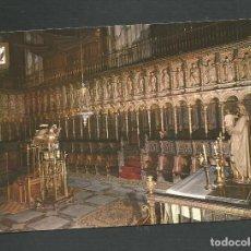 Postales: POSTAL SIN CIRCULAR - TOLEDO 111 - CATEDRAL - DETALLE DEL CORO - EDITA ESCUDO DE ORO. Lote 148148550