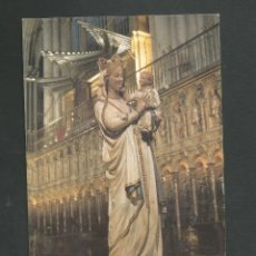 Postales: POSTAL SIN CIRCULAR - VIRGEN BLANCA - CATEDRAL DE TOLEDO - EDITA FOTO R.M.T. Lote 148152142