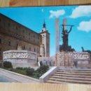 Postales: TOLEDO ALCAZAR Y MONUMENTO AL ANGEL DE LA VICTORIA. Lote 148324138