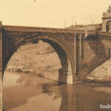 Postales: TOLEDO. PUENTE DE ALCÁNTARA. ROISIN. 62. 9X14 CM. SIN CIRCULAR. BUEN ESTADO. . Lote 151417982