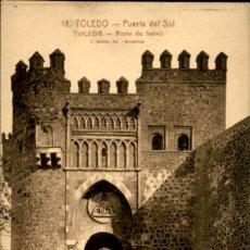 Postales: TOLEDO – 18 – PUERTA DEL SOL – L. ROISIN - 9 X14 CMS. Lote 151421590