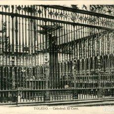 Postales: TOLEDO – CATEDRAL – EL CORO - 9 X14 CMS. Lote 151421974
