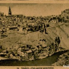 Postales: TOLEDO – VISTA PARCIAL PANORÁMICA - 9 X14 CMS. Lote 151423742