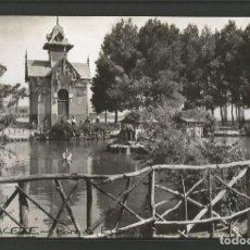 Postales: ALBACETE-PARQUE ESTANQUE-FOTOGRAFICA-POSTAL ANTIGUA-(57.119). Lote 151443830