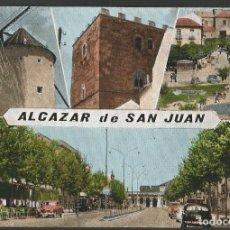 Postales: ALCAZAR DE SAN JUAN-MOLINO Y OTRAS VISTAS-COCHE AUTOMOVIL-POSTAL ANTIGUA-(57.126). Lote 151444938