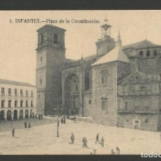 Postales: VILLANUEVA DE LOS INFANTES-PLAZA DE LA CONSTITUCION-ED· FIDEL MESAS-POSTAL ANTIGUA-(57.133). Lote 151445706