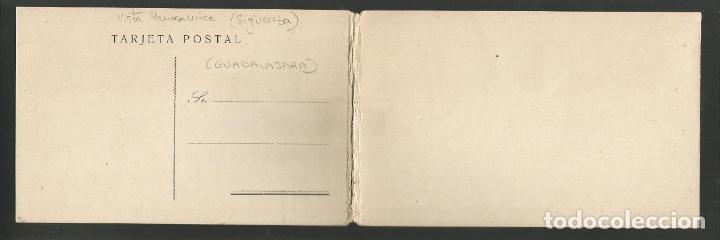 Postales: SIGÜENZA-VISTA PANORAMICA-DOBLE-POSTAL ANTIGUA-(57.135) - Foto 4 - 151446054