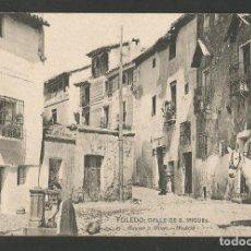 Postales: TOLEDO-CALLE DE SAN MIGUEL-HAUSER Y MENET-POSTAL ANTIGUA-(57.137). Lote 151446258