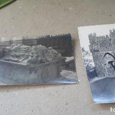 Postales: TOLEDO, SEPULCRO DEL CARDENAL TAVERA Y PUERTA DEL SOL, ED. LINARES, 14 X 9 CM. POSTALES FOTOGRAFICAS. Lote 151496306
