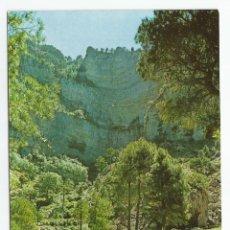 Postales: LOTE DE 2 POSTALES DE RIOPAR-ALBACETE-CASCADA LOS CHORROS-FOTOCOLOR VALLMAN-SIN CIRCULAR-MBC. Lote 152339242